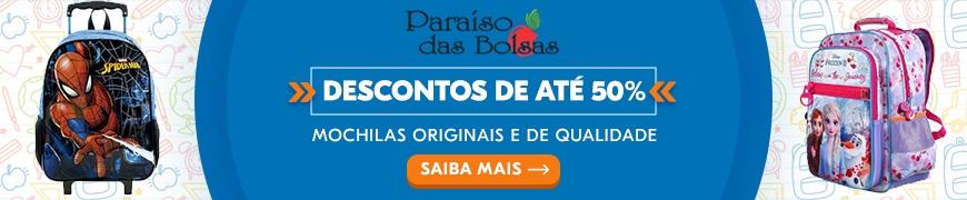Promoção Mochila Escolar Infantil no Atacado em Goiânia Paraiso das Bolsas